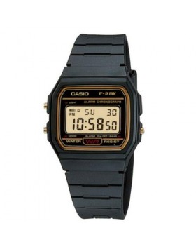 Casio - Collection F-91WG-9QDF
